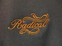 RADICAL Logo Soft Shell Jacket Black